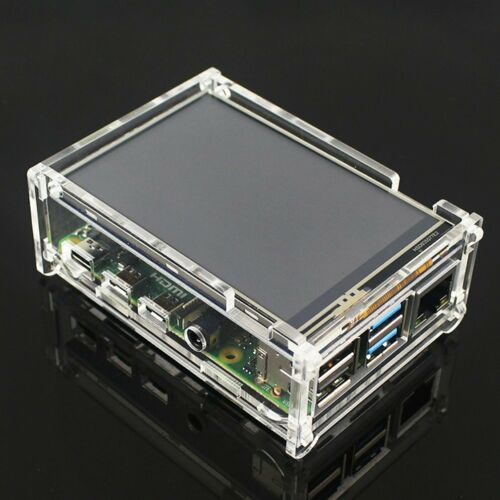 For Raspberry Pi 4 Model B 3.5-inch LCD display touch pen case 50 FPS SPI GH