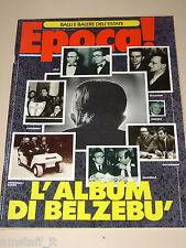 EPOCA=1989/2024=GIULIO ANDREOTTI BELZEBU ALBUM=MARADONA=MAURO LEONE=RANDONE=