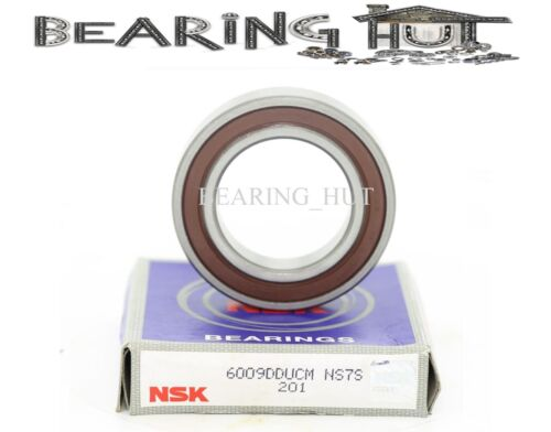 NSK 6009DDU Deep Groove Radial Ball Bearing 45x75x16