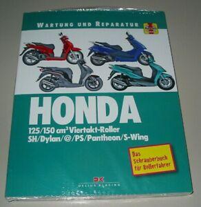 Auto & Verkehr Clever Reparaturanleitung Honda Motorroller 125 150 Cm³ Viertakt Sh Dylan Ps Pantheon Ein Unbestimmt Neues Erscheinungsbild GewäHrleisten