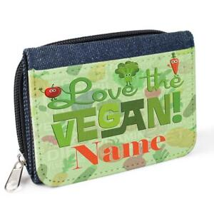 Image Is Loading Personalised Ladies Purse VEGAN Denim Coin Her Mum