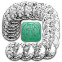 2017 1 oz Silver American Eagle Coins BU