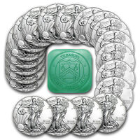 2017 1 oz Silver American Eagle Coins BU (Lot of 20)