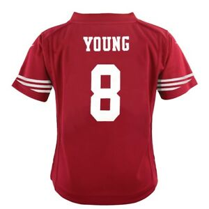 Steve Young San Francisco 49ers Nike Home Red Jersey Boys (S-L)