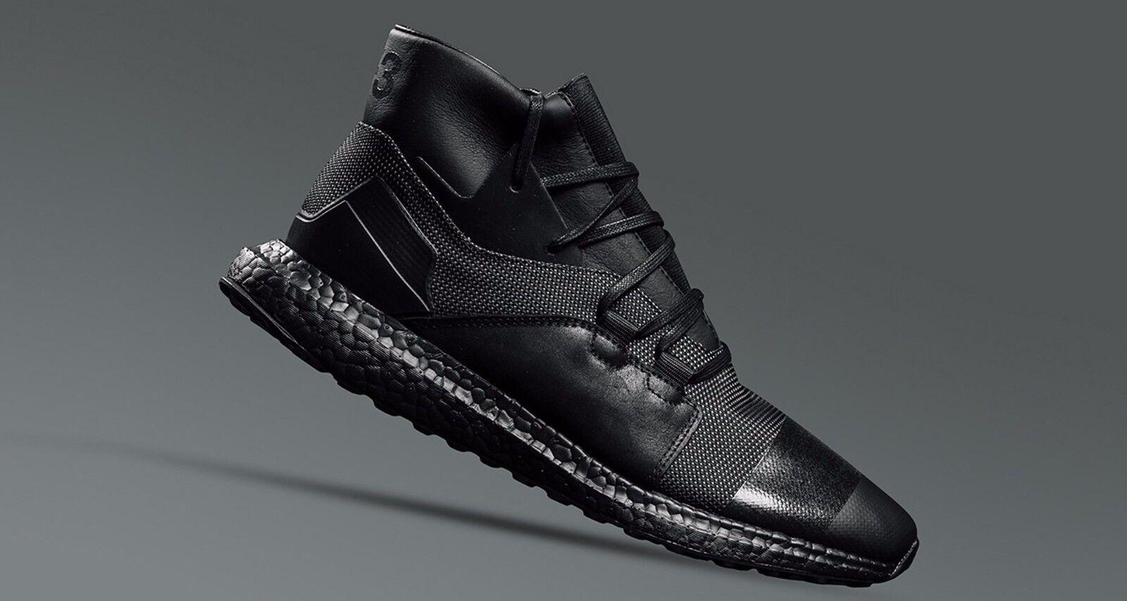 Adidas Y-3 Kozoko High 12. Triple Black. Yohji Yamamoto. ultra boost. CG3160.