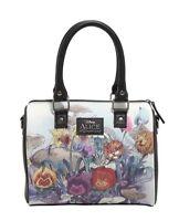 Disney Alice In Wonderland Watercolor Scene Barrel Bag Purse Gift With Tags