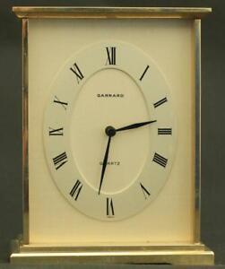 GARRARD-VINTAGE-SWISS-SOLID-BRASS-QUARTZ-CARRIAGE-CLOCK