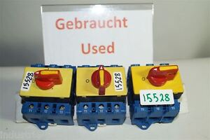 Kraus & Naimer KG80 Cam Switches 30kW, 80A Main Switch Switch