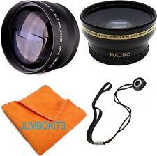 77MM FISHEYE LENS + TELEPHOTO ZOOM LENS FOR Nikon D610 with 28-300mm VR Lens