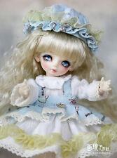 DianDian girl【Huajing-Doll】1/8 mini YO-SD size baby 17cm angel body doll bjd
