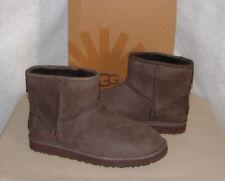 e9c6603a60e Mens UGG Classic Mini Deco Capra Winter BOOTS Chocolate 1009687 10 ...