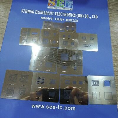 46PCS//Set  Apple iPhone4 3G 3GS 4G Direct Heated BGA Stencil Template
