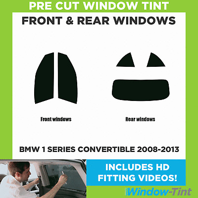 FULL PRE CUT WINDOW TINT BMW 6 SERIES 2-DOOR COUPE F13 2011