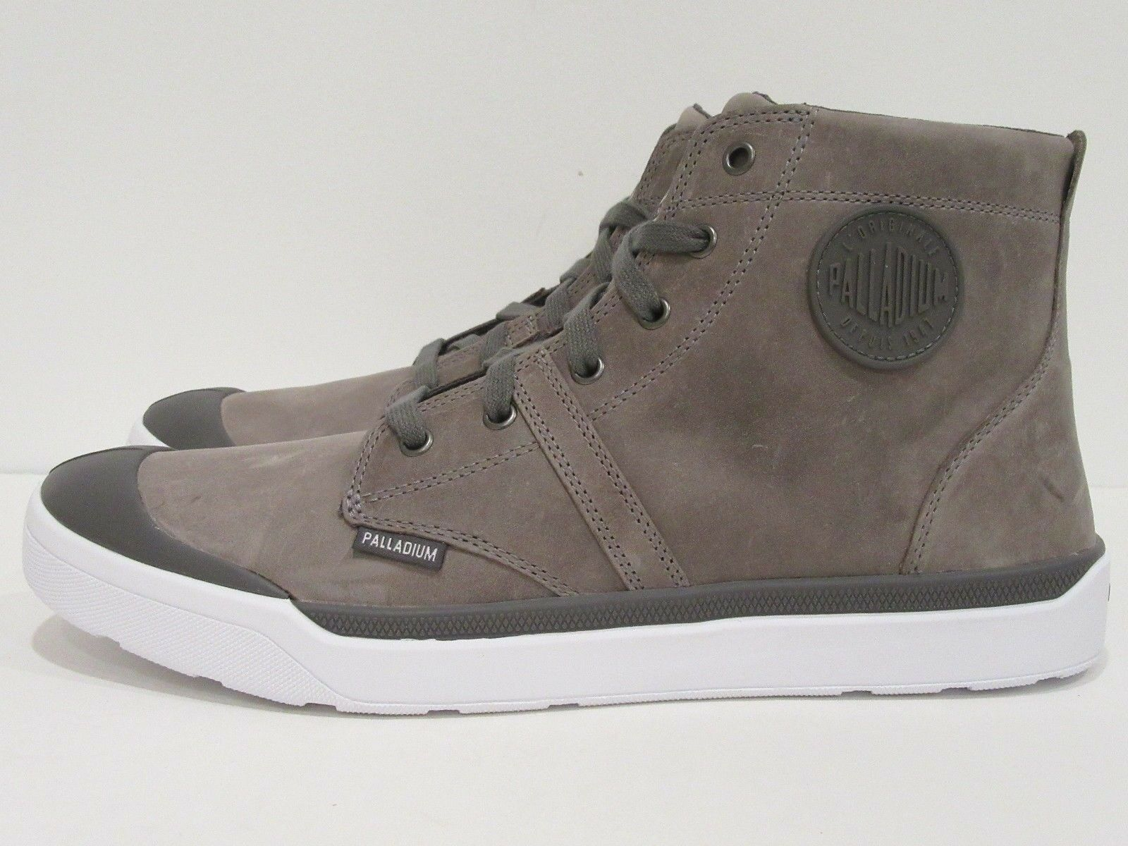 Palladium Men's Pallarue Hi  Leather Boot  Size ; 13 D(M) US   47 EUR