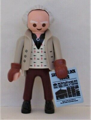 Playmobil Retour vers le futur le Dr Emmett Brown 2020 Comme neuf CONDITION