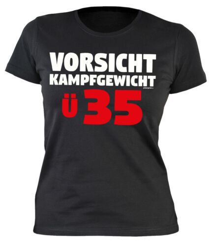 Geburtstag 35 Jahre Damenshirt 35 Geburtstag Sprücheshirt Frau Sprüche 35