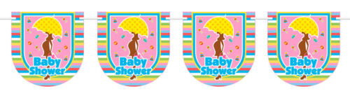 Baby Shower Wimpelkette 6m Babyparty Babyshower