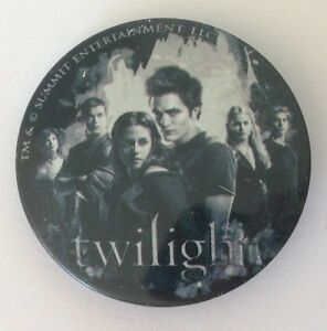 Twilight-Television-Series-Small-Button-Badge-Pin-Vintage-Authentic-N14