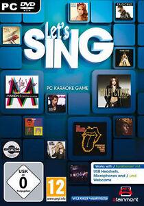 PC-Computer-Spiel-Lets-Sing-NEU-NEW