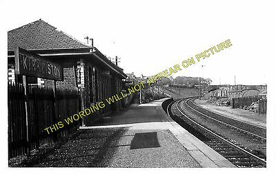 Dalmeny North British Railway. Kirkliston Railway Station Photo 1 Ratho
