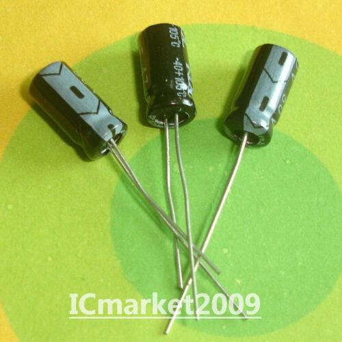 100 PCS 47uF//50V 6X12mm 105°C Radial Electrolytic Capacitors 50V 47uF