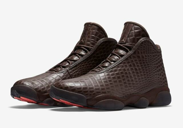 Mens Jordan Horizon Premium Off Court Shoes, 822333 205 Sizes 8-10.5 Brown