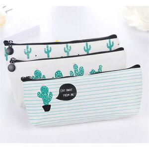 Cute-Cactus-Pencil-Pen-Case-Cosmetic-Makeup-Bag-Storage-Pouch-Purse-for-school
