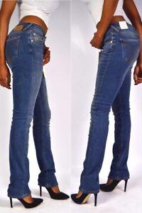 att-Amor-Confiance-amp-VERITE-Jeans-Stella-DROIT-pluie-bleu-jambe-droite-NEUF