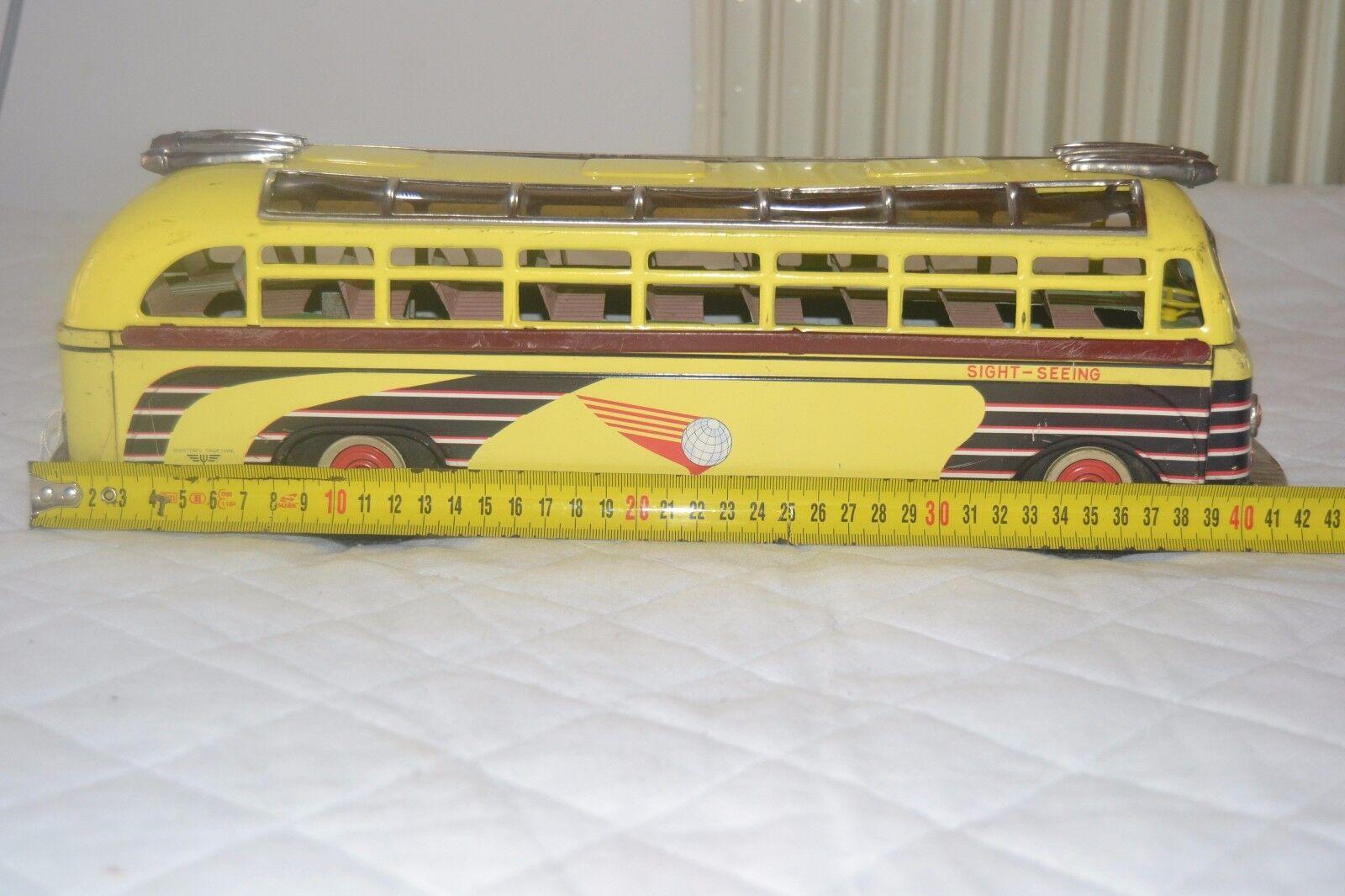 Bus I.Y. Metal Juguetes Japan in latta anni 1950-bus tin Juguetes