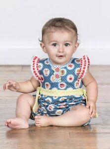 23c3e2dab2f MATILDA JANE Teachers Pet Blue Romper Baby Girl Size 12-18 Months ...