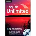 English Unlimited Upper Intermediate A Combo with DVD-ROMs (2) by David Rea, Chris Cavey, Alison Greenwood, Theresa Clementson, Rob Metcalf, Leslie Anne Hendra, Alex Tilbury (Mixed media product, 2013)
