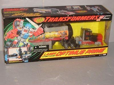 RID TRANSFORMER AUTOBOT OPTIMUS PRIME LASER PRIME MISB LOT # 1