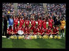 FC Bayern München Mannschaftskarte Deutscher Meister 1987 +2