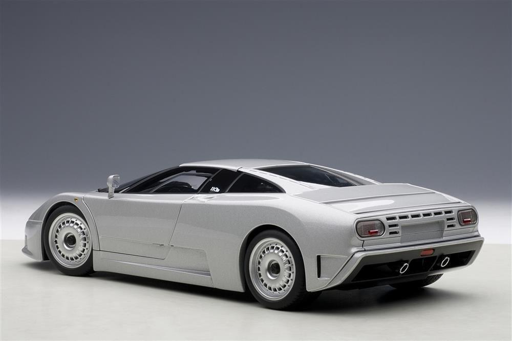 1 18 Autoart Autoart Autoart Bugatti Eb110 Gt 1991 Plata 5e0b14