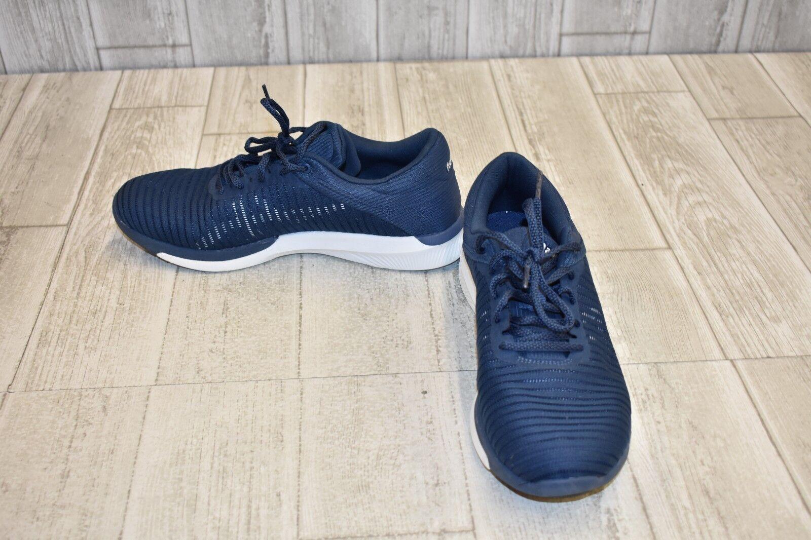 Nuevo Para Hombres Adidas Galaxy 3 Correr M Ortholite Correr 3 Entrenadores Azul Marino/Amarillo 44e250