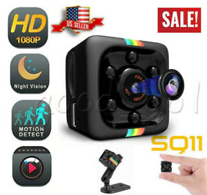 Mini SQ11 DV DVR Camera HD Mini Car Dash Cam IR Night Vision Camcorder