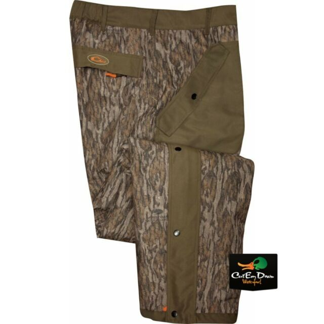 37b8157b72ef9 DRAKE WATERFOWL NON-TYPICAL STORM PANTS SHERPA FLEECE LINED BOTTOMLAND CAMO  2XL