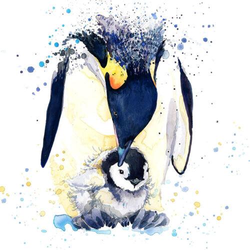 Einhorn Blumen Pinguin 5D Diamant Malerei Diamond Painting DIY Wzx#v