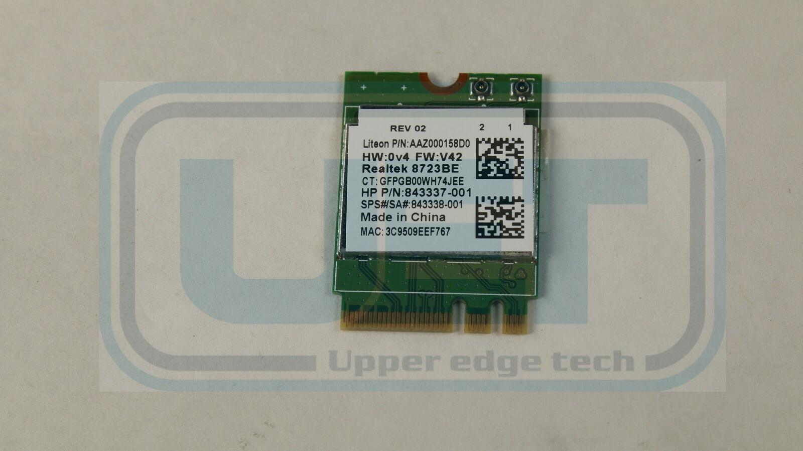 HP 15-BA083NR 843337-001 802.11n M.2 Tested Warranty