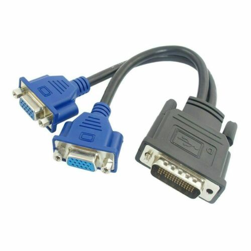 ATI Radeon SFF Low Profile Dual Monitor Video Card 256MB DDR2 PCI-E x16 VGA HD