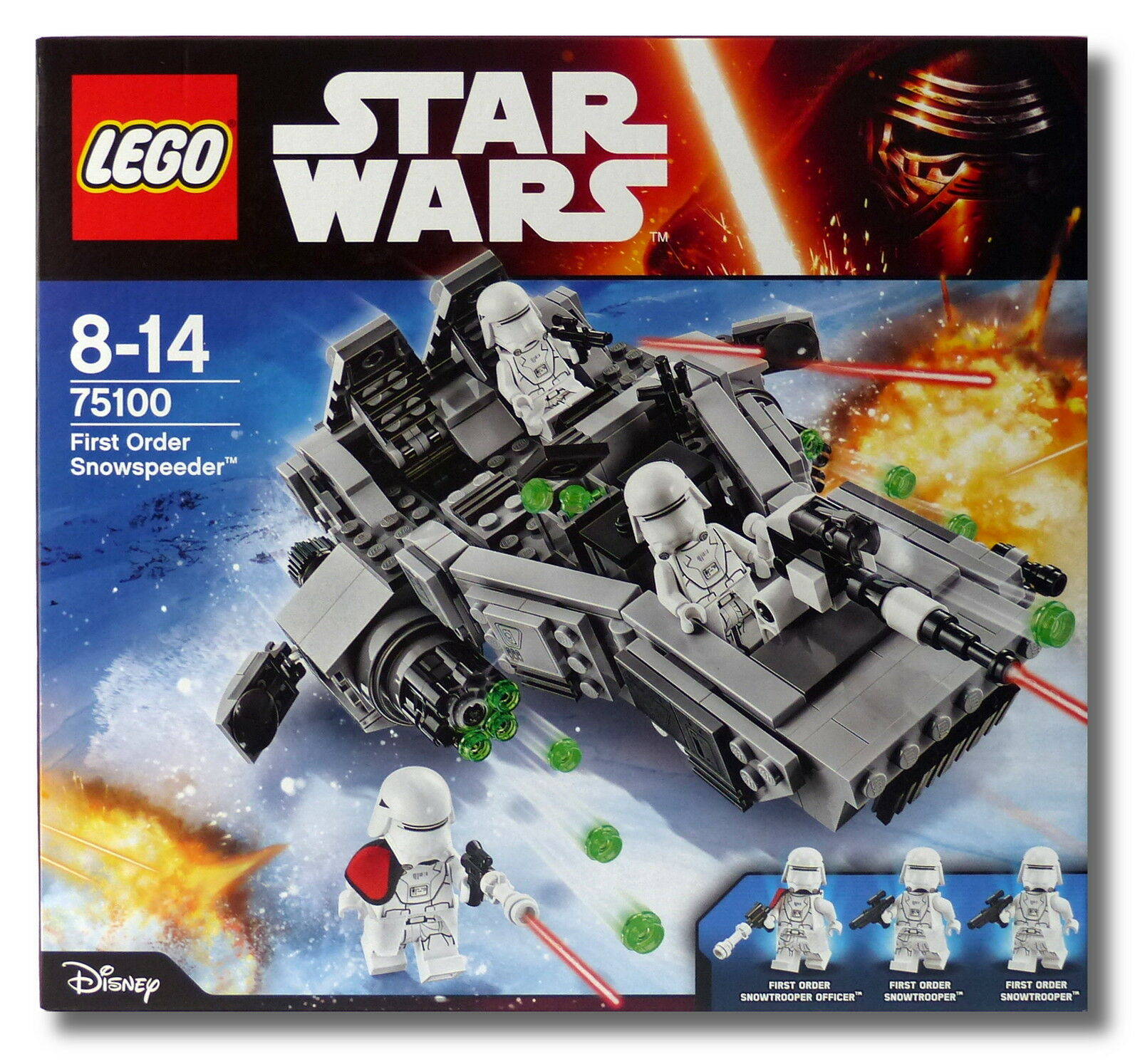 LEGO® Star Wars™ 75100 First Order Snowspeeder™ Collectors 2015 NEU/OVP