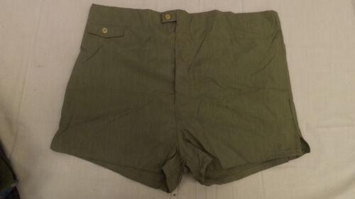 Vtg 60s NOS Welgrume Swim Suit Sz 42-44 XL Green C