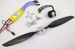 KGPM116-1-set-BL-Motor-30A-ESC-amp-Folding-Prop-11x-6-for-mini-RC-Powered-Glider