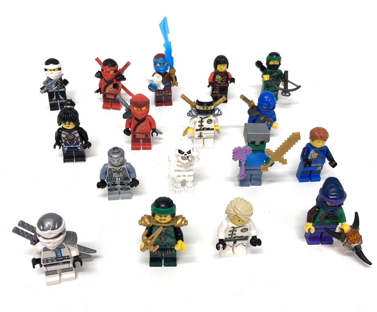Lego Set  • 17 Figures • Ninjago Minecraft Skelett • LEGO Figures Set