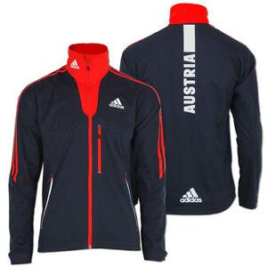 aed191340592 Das Bild wird geladen adidas-Herren-Softshell-Jacke-Team-Austria-Olympia- Jacket-