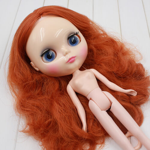 """12/"""" Neo Nude  Curly Hair Blythe doll From Factory  JSW82003"""