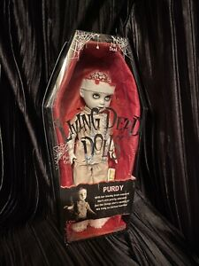 Living Dead Dolls Purdy Series 9 Doll Brains LDD Mezco sullenToys