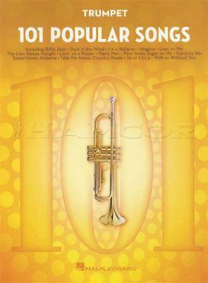 101 Popular Songs For Trumpet Sheet Music Book Michael Jackson Billy Joel Chinese Smaken Bezitten
