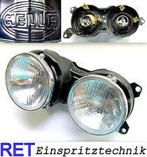 Scheinwerfer links HELLA BMW 635 CSI E 24 Reflektoren neu schmaler Chromring