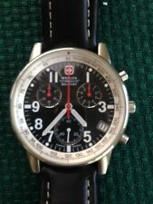 WENGER SWISS MILITARY CHRONOGRAPH TACHYMETER COMMANDO PILOTS WATCH